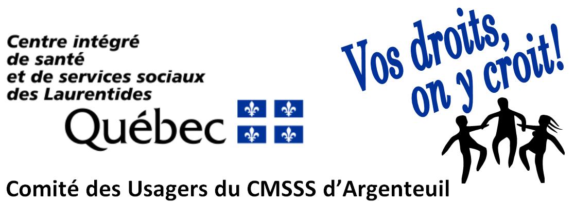 Comité des usagers de Argenteuil